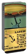 Lady Bug Wiggler Portable Battery Charger