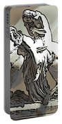 Lady Godiva Statue Portable Battery Charger