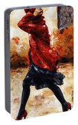 Lady In Red 28 Portable Battery Charger