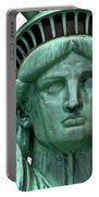 Lady Liberty Up Close Portable Battery Charger