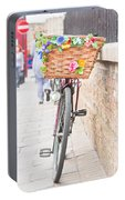 Lady's Bike Portable Battery Charger