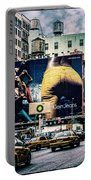 Lafayette And Houston Nyc Portable Battery Charger by Chris Lord