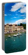 Lago Di Garda In Italy In Early Spring  Portable Battery Charger