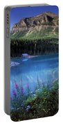 Lake Louise Banff Canada Portable Battery Charger