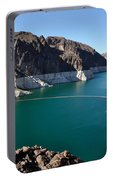 Lake Mead By Hoover Dam Portable Battery Charger