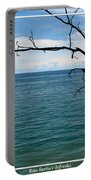 Lake Ontario Near Chimney Bluffs Portable Battery Charger