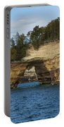 Lake Superior Pictured Rocks 17 Portable Battery Charger