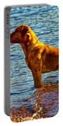 Lake Superior Puppy Portable Battery Charger