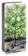 Lake Tahoe Tree Portable Battery Charger