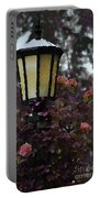 Lamp And Roses Portable Battery Charger