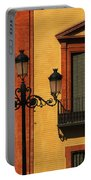 Lamp And Window In Sevilla Spain Portable Battery Charger