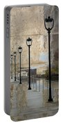 Lamp Posts And Concrete Portable Battery Charger