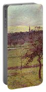Landscape At Eragny Portable Battery Charger