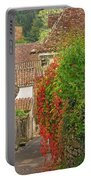 Lane And Ivy In St Cirq Lapopie France Portable Battery Charger