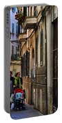 Lane In Palma De Majorca Spain Portable Battery Charger