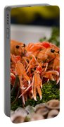 Langoustines At The Market Portable Battery Charger