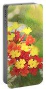 Lantana Blank Greeting Card Portable Battery Charger
