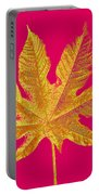 Large Leaf Photoart Portable Battery Charger