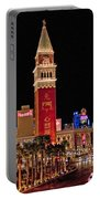 Las Vegas Canvas Panorama Portable Battery Charger