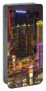 Las Vegas Nevada Portable Battery Charger by Nicholas  Grunas