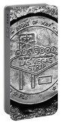 Las Vegas Strip Street Medallion Portable Battery Charger