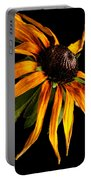 Last Day Of A Black-eyed Susan Portable Battery Charger