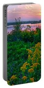 Late Summer Lake Portable Battery Charger
