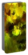 Late Summer Nature Abstract Portable Battery Charger