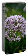 Lavender Globe Lily Portable Battery Charger