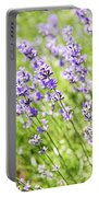 Lavender In Sunshine Portable Battery Charger