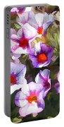 Lavender Million Bells Flowers Portable Battery Charger