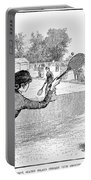 Lawn Tennis, 1883 Portable Battery Charger