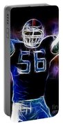 Lawrence Taylor  Portable Battery Charger by Paul Ward