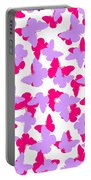 Layered Butterflies  Portable Battery Charger by Louisa Knight