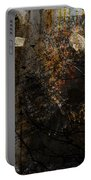 Layered Realities Abstract Composition Painting Print Portable Battery Charger