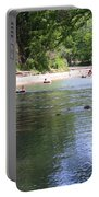Lazy Summer Days Portable Battery Charger