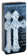 Lead Me To The Cross With Lyrics Portable Battery Charger