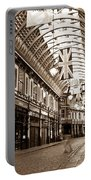 Leadenhall Market London With  Portable Battery Charger