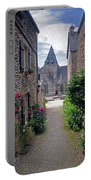 Leading To The Church Provence France Portable Battery Charger