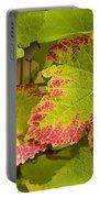 Leaf Design Portable Battery Charger