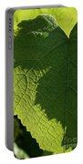 Leaf Shadow Portable Battery Charger