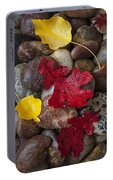 Leafs And Stones Portable Battery Charger