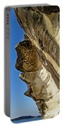 Leaning Rock Portable Battery Charger by Kaye Menner
