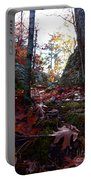 Leaves In The Forest Portable Battery Charger