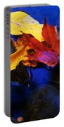 Leaves Of Autumn Portable Battery Charger
