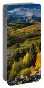 Leaves Turning At Dallas Divide Portable Battery Charger