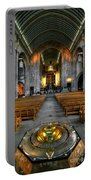 Leeds Cathedral Baptismal Font And Nave Portable Battery Charger