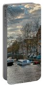 Leidsegracht. Amsterdam Portable Battery Charger