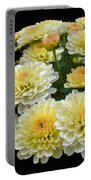 Lemon Meringue Chrysanthemums Portable Battery Charger