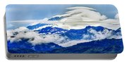Lenticular And The Chugach Mountains Portable Battery Charger